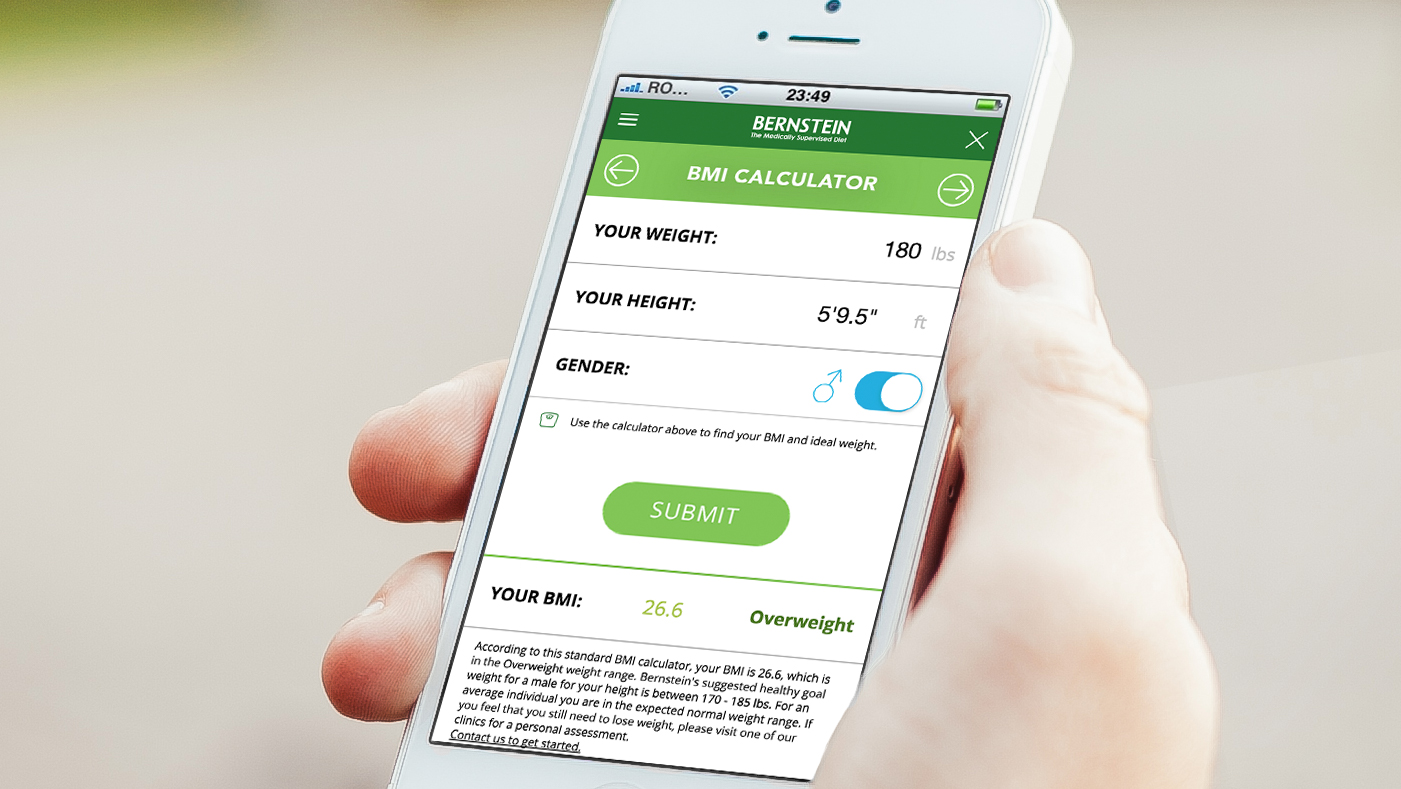 Bernstein Diet & Health Clinics - Mobile Application