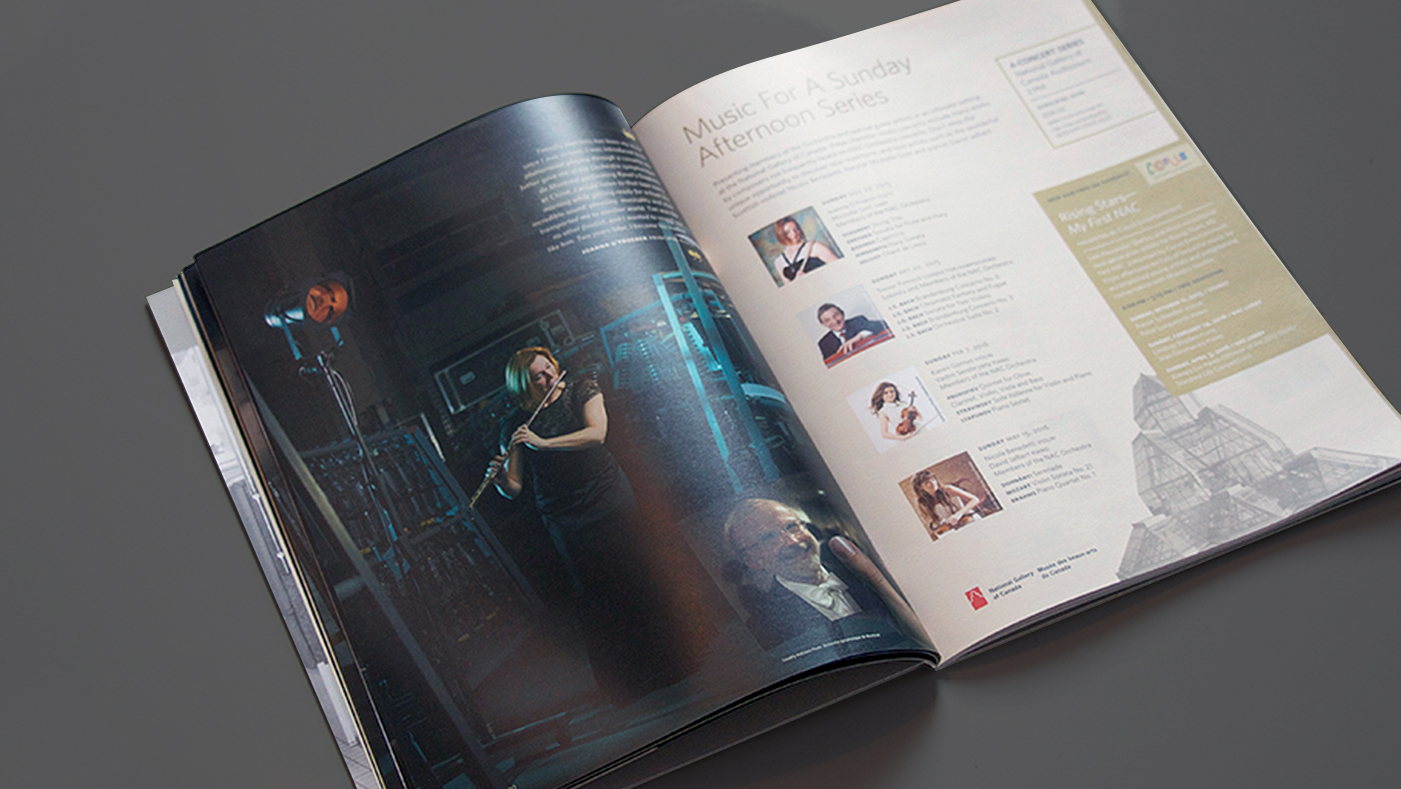 National Arts Centre Orchestra - Magazine Pages