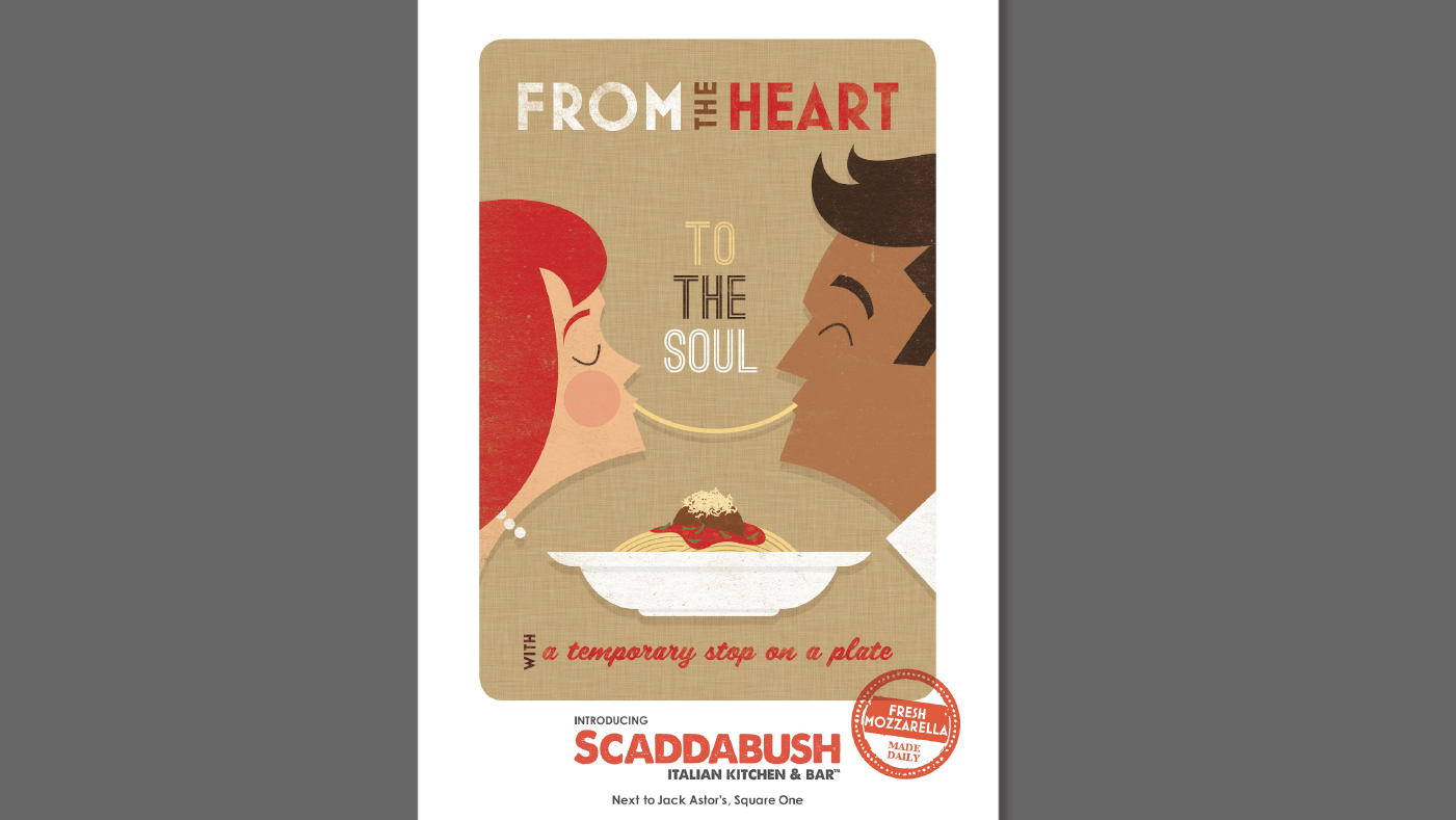 Scaddabush - From The Heart