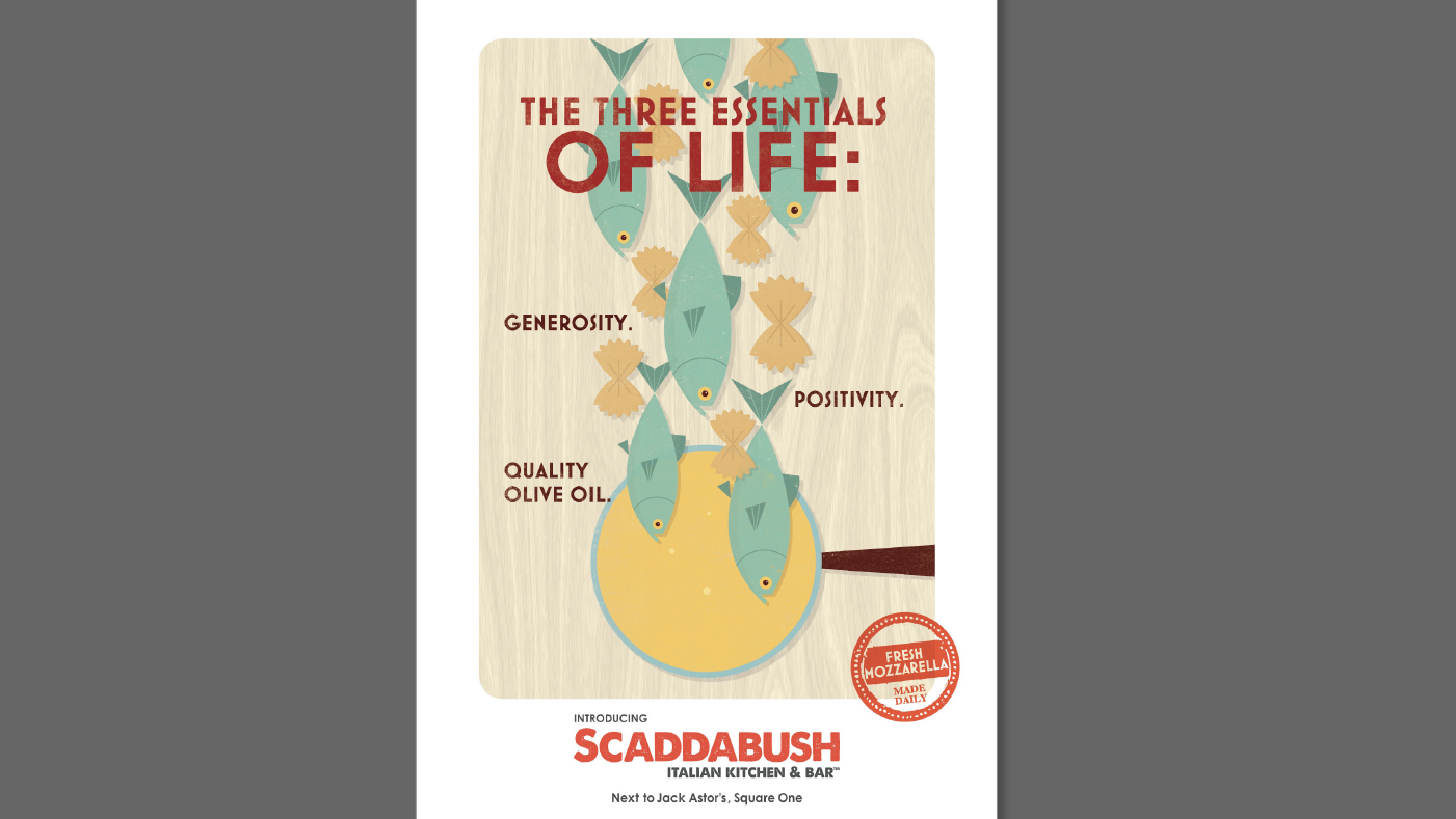 Scaddabush - The Three Essentials of Life