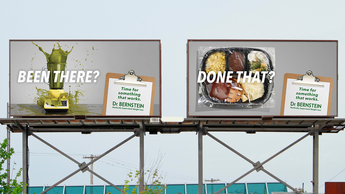 Bernstein Diet & Health Clinics - Billboard Advertising