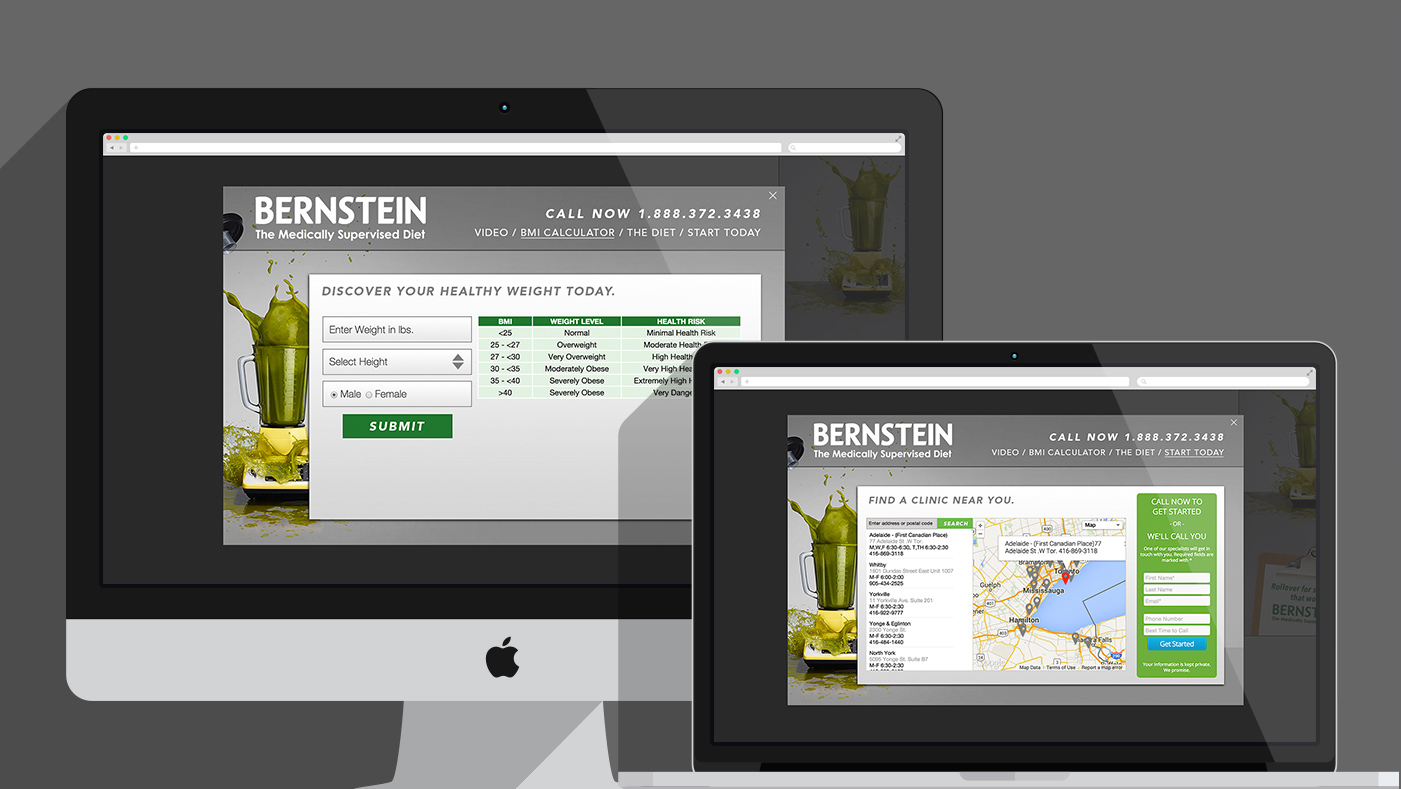 Bernstein Diet & Health Clinics - Website