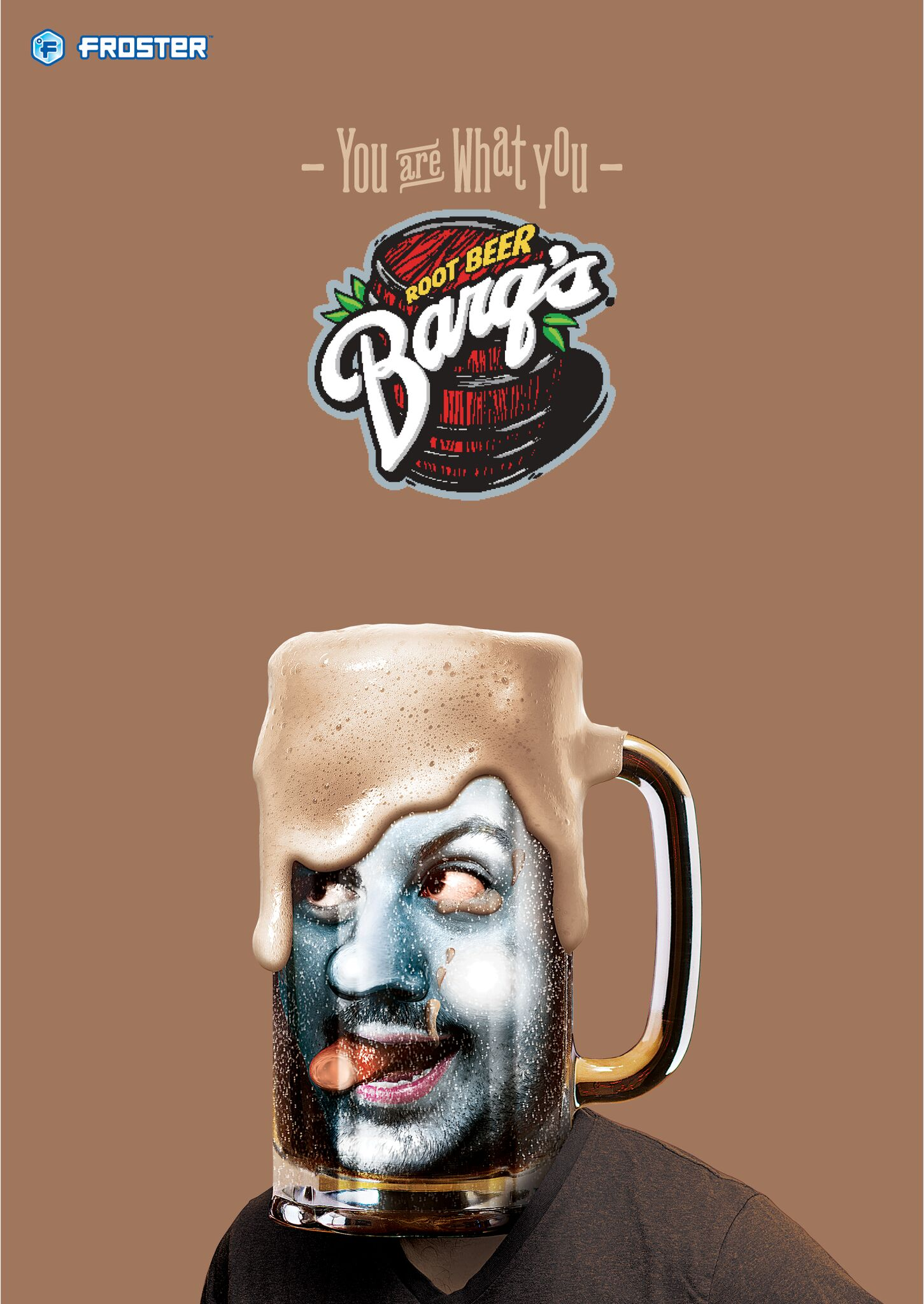Mac's Froster - Barq's poster