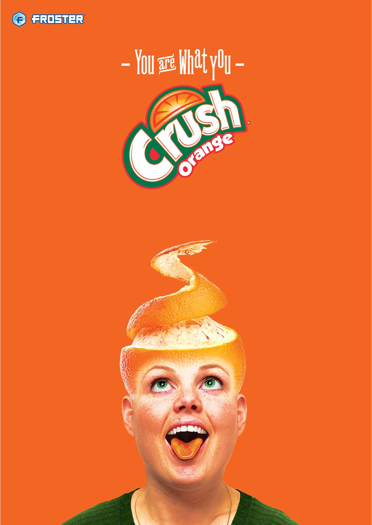 Mac's Froster - Crush orange poster