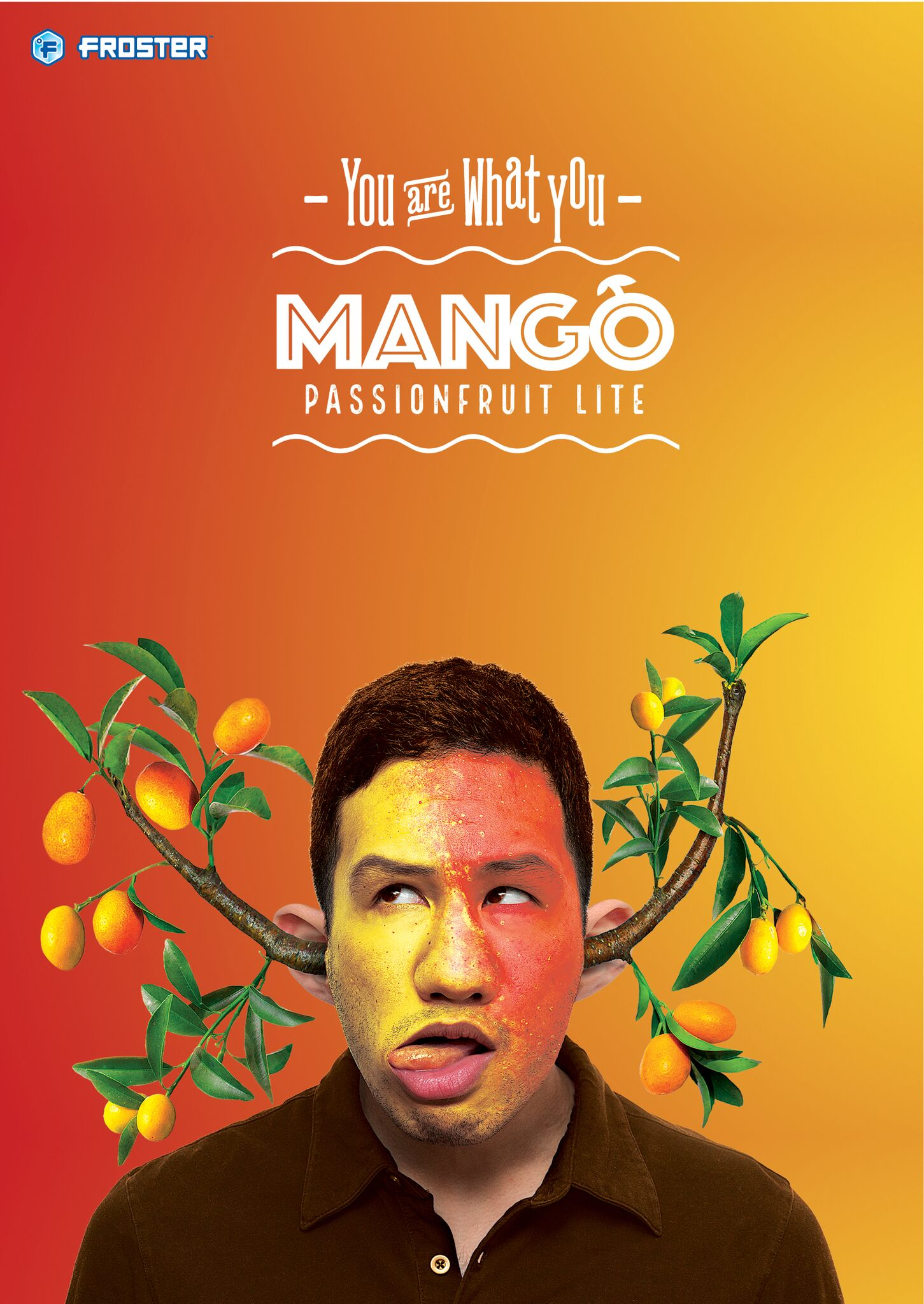 Mac's Froster - mango poster