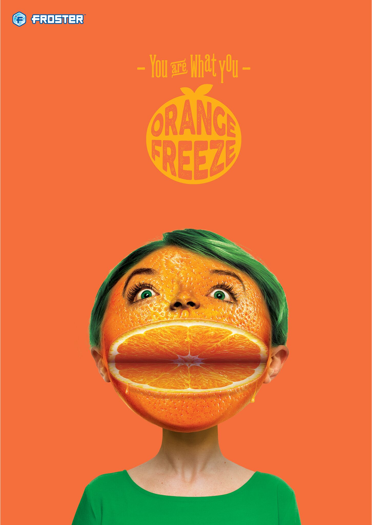 Mac's Froster - orange freeze poster
